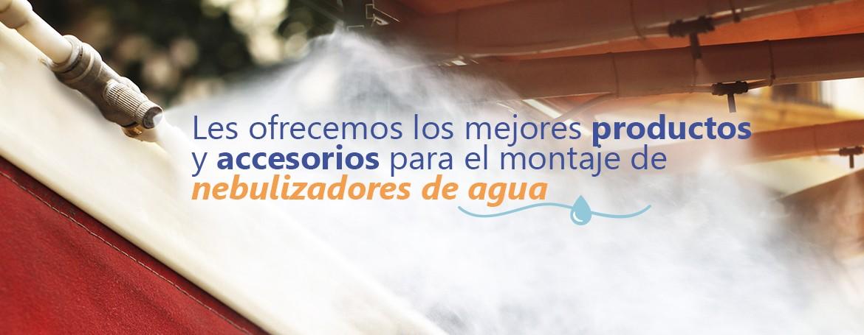 nebulizadores de agua